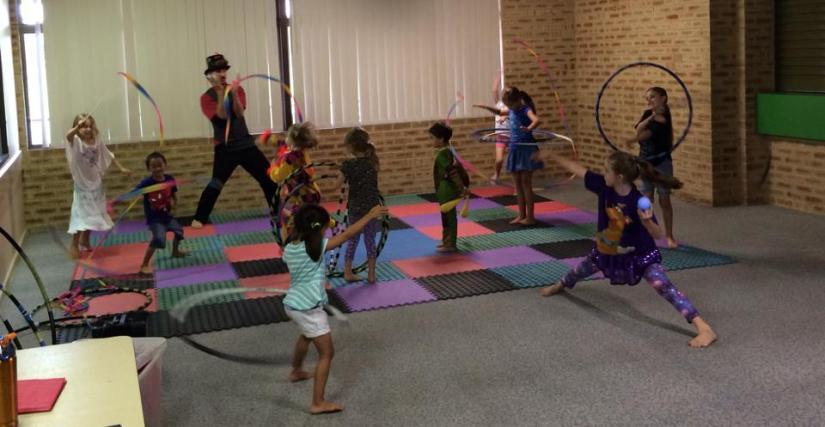 circus workshop Perth