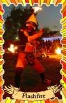 Fire performer Perth