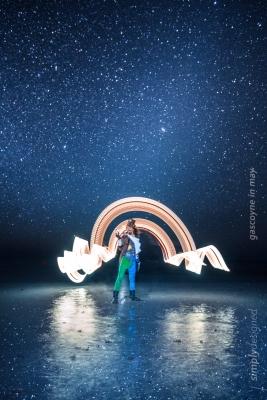 Perth light performer
