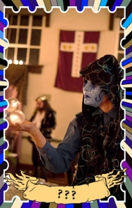 Medieval Jester Clown masquerade