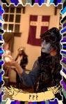 Medieval Jester Clown masquerade